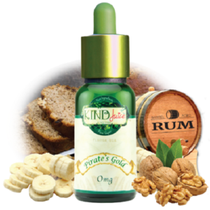 Pirate's Gold E-Liquid by Kind Juice Review